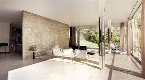 tugendhat house interior  lasse rode xoio  architectural visualization rendering blog