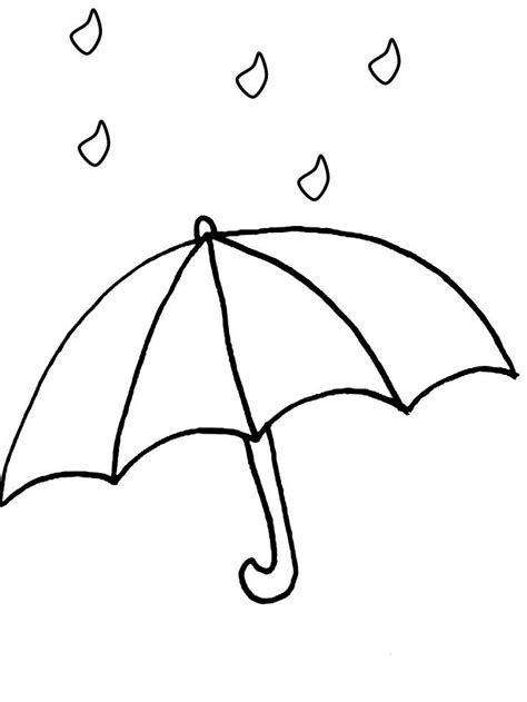 coloring page of umbrella umbrella coloring page coloring home