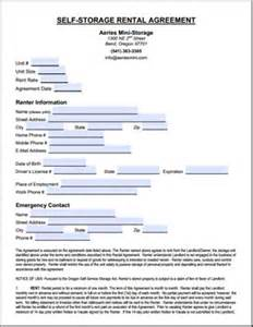 Self Storage Rental Agreement Template by Forms At Aeries Mini Storage Self Storage In Bend Oregon