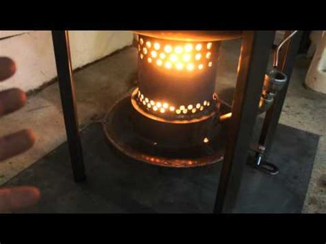 diy ozzirt waste oil heater waste oil heater experiment 3