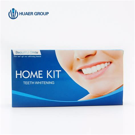 teeth whitening kit with led light china beautiful smile teeth whitening home kit with mini