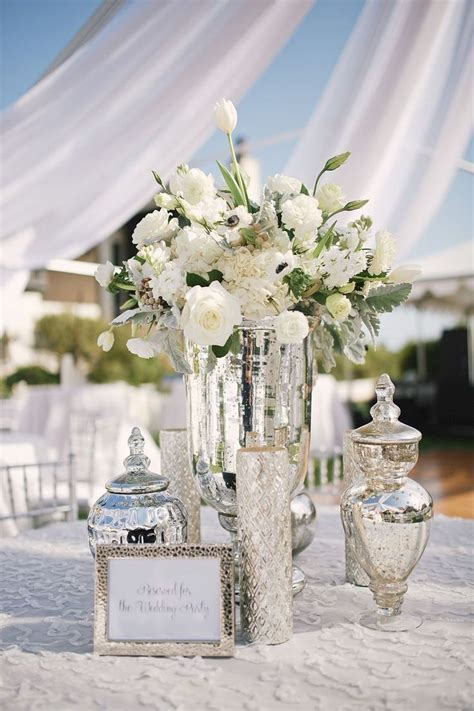 Best 25  Silver wedding decorations ideas on Pinterest