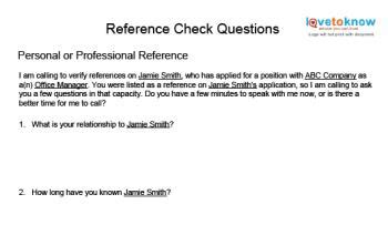 reference request letter how to do a reference check
