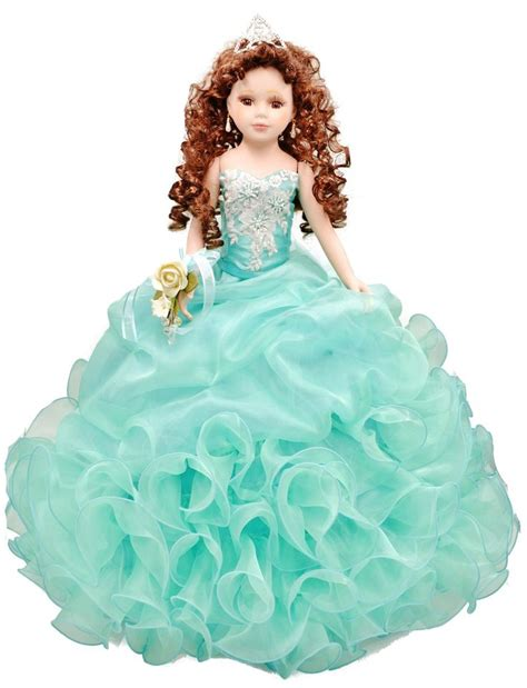 porcelain doll quince anos quinceanera mall 18 quot quinceanera doll my