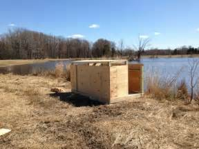 the duck blind best 20 duck blind plans ideas on raft boat