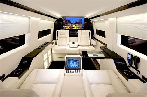 luxury minivan interior the interior of the amazing sprinter jetvan corporate
