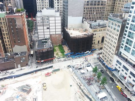 swing shift richmond hill demolition update 22 thames street new york yimby