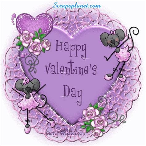 glitter valentines day graphics s day scraps greetings animated comments