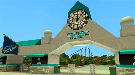 theme park entrance how to build a park entrance updated youtube