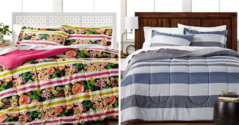 macy s bed linens macy s 3 piece comforter sets only 18 99 regularly 80