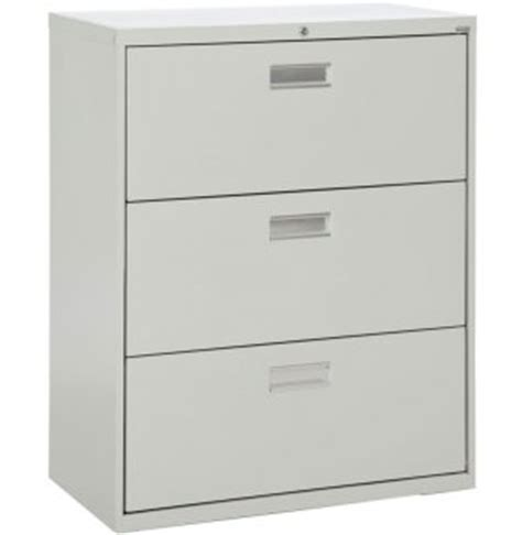 600 series lateral file cabinet 3 drawer 36 quot w sfl 363