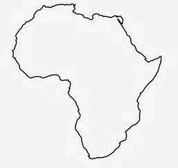 Africa Outline Map by Africa Map Outline Cfxq
