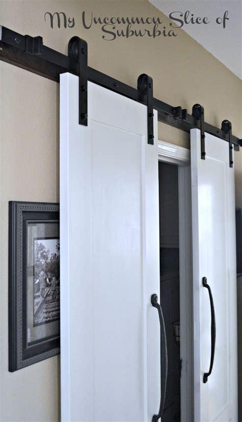 12 Diy Barn Door Designs Hometalk Barn Door Laundry Room