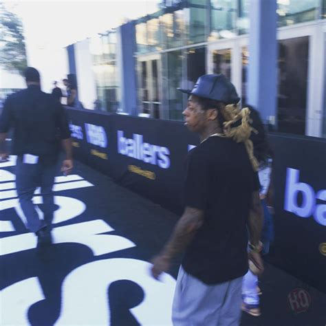 theme music ballers lil wayne attends ballers season 2 premiere in miami