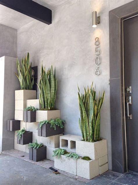 il giardino di cemento decorare il giardino con dei blocchi di cemento 20 idee per ispirarvi