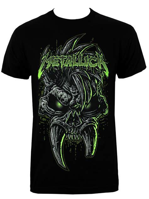 Tshirt Guitar Metalica April Merch metallica scary s black t shirt buy at grindstore