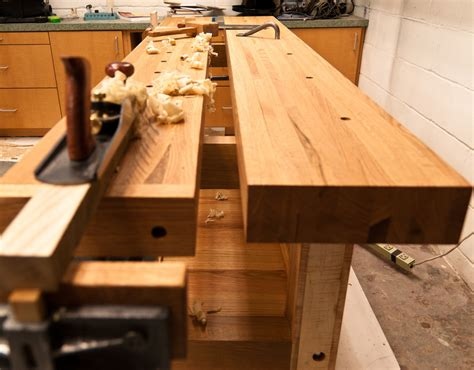 woodworking workbench top here s one way to flatten a workbench top woodworking