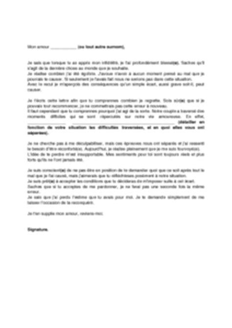 Conseil Lettre D Amour Lettre D Excuses Pour Infid 233 Lit 233 Mod 232 Le De Lettre Gratuit Exemple De Lettre Type Documentissime