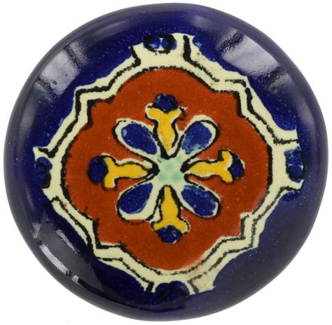 Talavera Door Knobs by Mexican Tile Libro Drawer Knob