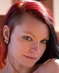 model profile page