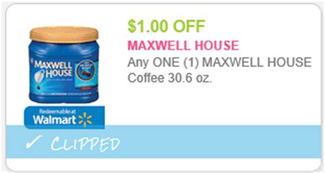 printable maxwell house coupons maxwell house coffee only 5 99 get 1 000pts at