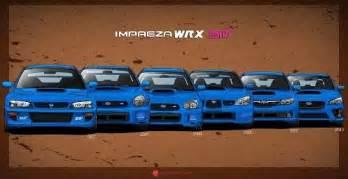Subaru Generations Sti Generations Drift Stanced Cars