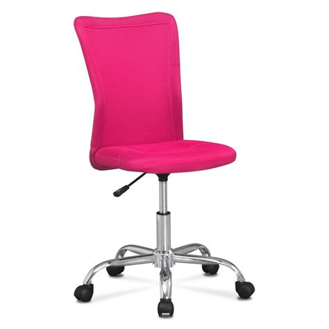kids pink desk chair mist desk chair pink value city furniture