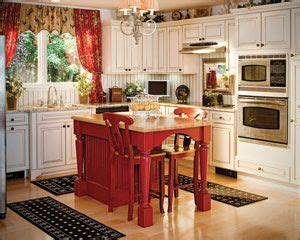 kitchen island red pin by shannon hill on kitchens pinterest