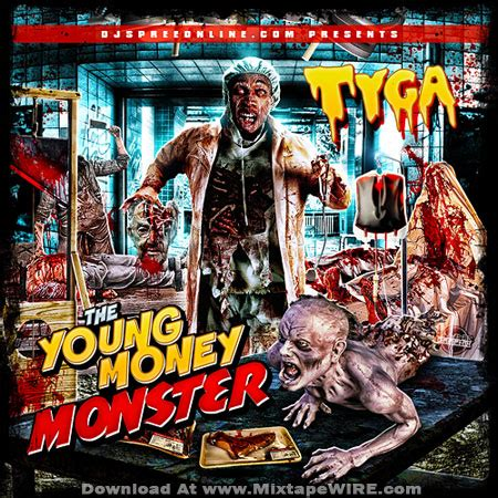 ymcmb flow ft bonka monster freestyle tyga young money monster mixtape by dj spree mixtape