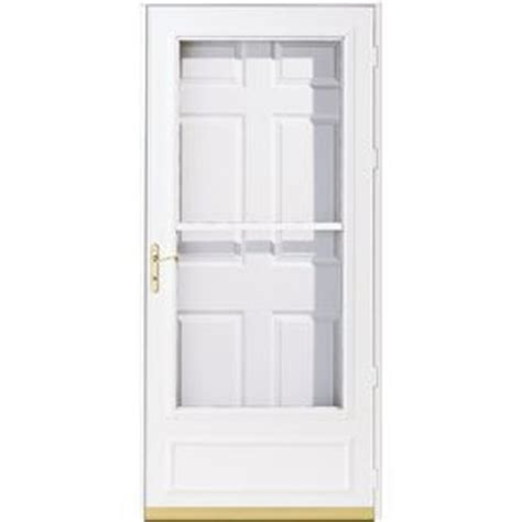 pella helena white mid view safety retractable screen