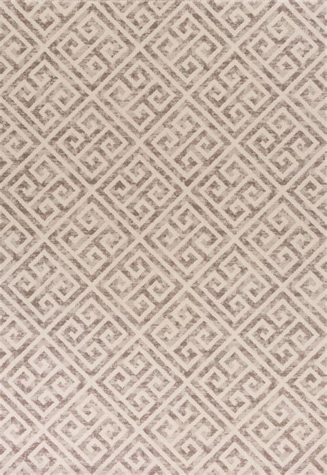 Key Area Rug by Kas Reflections 7433 Taupe Key Area Rug