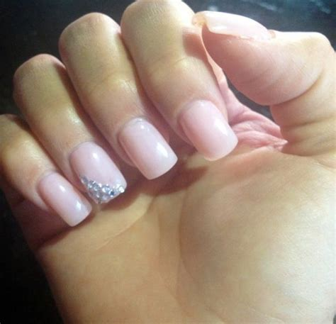 tip and ring colors manicure or one color for the big day