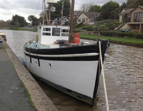 small motor boats for sale scotland for sale scottish trawler wooden motor yacht