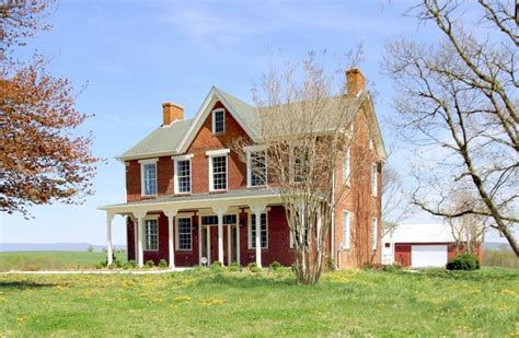 maryland historic brick farmhouse circa houses