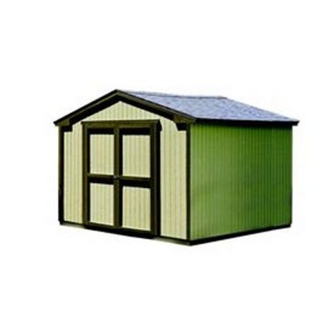Lowes Shed Doors by Lowes Wood Storage Shed Common 10 Ft X 12 Ft Interior