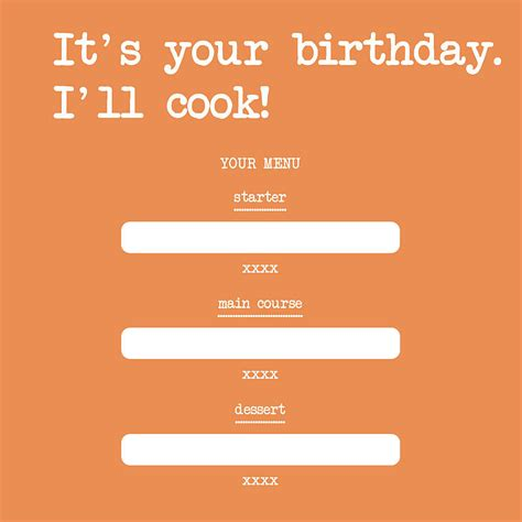 it s your birthday i ll cook card by edith bob