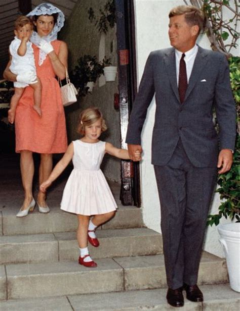 john f kennedy jr children jfk jr jackie caroline and president john f kennedy