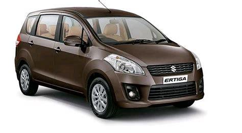 Maruti Suzuki Ertiga Price Maruti Ertiga Petrol Zxi Price Specs Review Pics