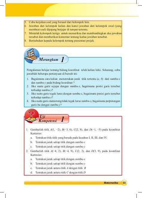 buku paket matematika 8 buku siswa matematika kelas viii smp kurikulum 2013