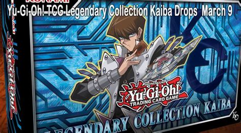yugioh deck release dates yu gi oh legendary collection kaiba gets a march 2018