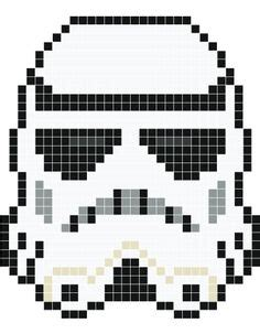 wars pixel templates wars darth vader perler bead pattern stitch charts