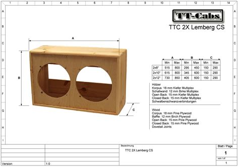 guitar speaker cabinet design questions regarding 2x10 speaker cabinet design build
