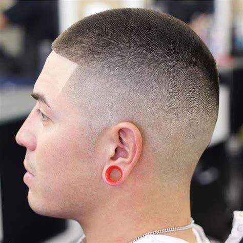 how to dye hair buzz cut men s faded buzz cut on dark hair