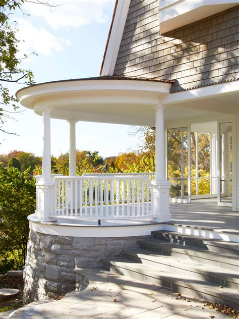 Circular Porch Home Design Ideas Pictures Remodel And Decor House Plans With Rounded Porch