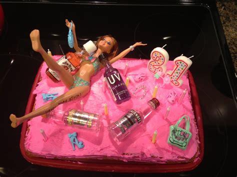 st birthday cakes  girls drunk barbie st birthday cake st bday ideas st