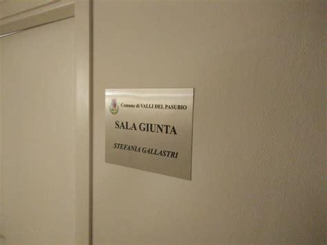 comune di schio ufficio anagrafe sala giunta intitolata alla dipendente tragicamente