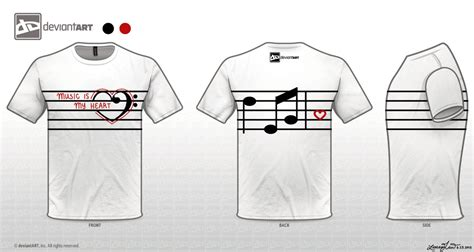 design t shirt music music is my heart t shirt design by x3strawb3rry on deviantart