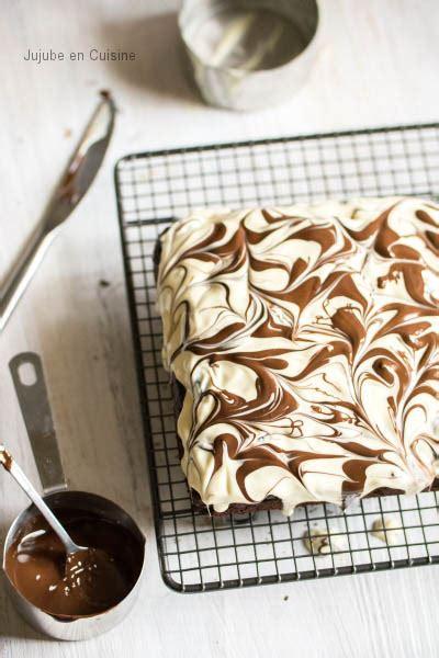 Cuisine Noir Et Blanc 197 by Recette De Brownie Napp 233 Marbr 233 De Chocolat Noir Et Blanc