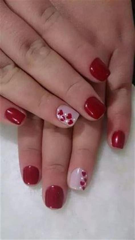 imagenes de uñas decoradas san valentin m 225 s de 1000 ideas sobre u 241 as de gel rojas en pinterest