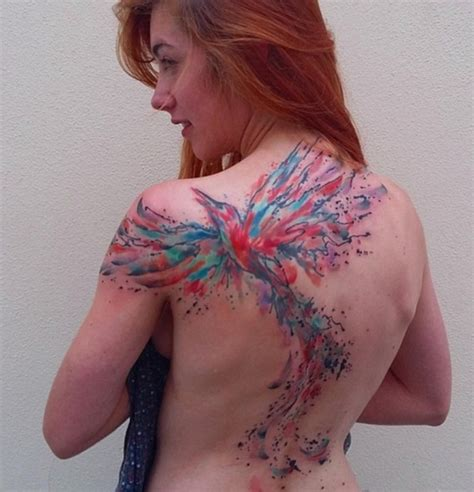 phoenix tattoo reddit 100 back tattoo ideas for girls with pictures meaning